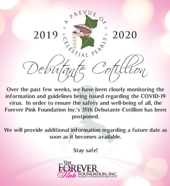 Cotillion Postponed